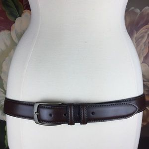 NEW Joseph Abboud Hand Crafted Italy Leather Belt